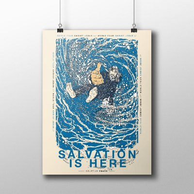 POSTER SALVATION IS HERE
