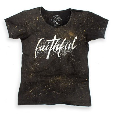 CAMISETA GOLA CANOA  FAITHFUL CUSTOM