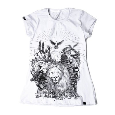 CAMISETA FEMININA KINGDOM