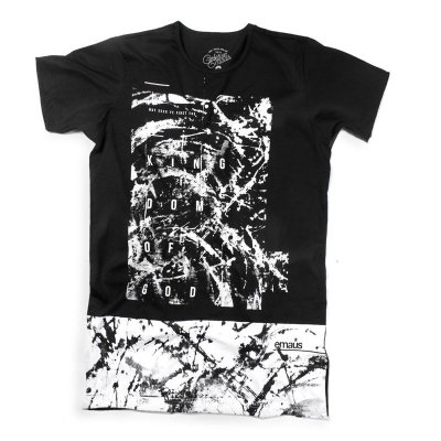 CAMISETA LONGLINE SEARCH THE GOD