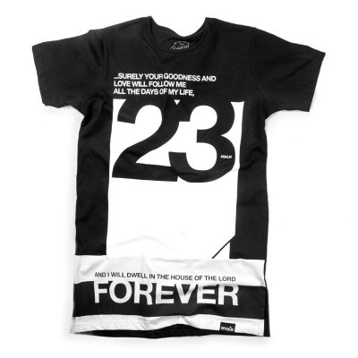 CAMISETA LONGLINE FOREVER 23