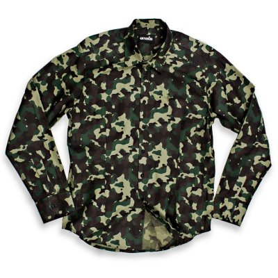 CAMISA SLIM FIT CAMUFLADA