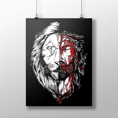 Poster Jesus Leão Black