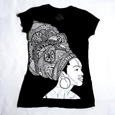 CAMISETA FEMININA ÁFRICANA