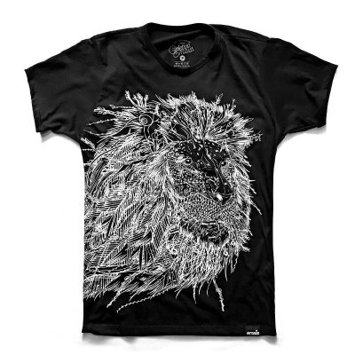 Camiseta Leão Éden Black