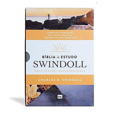 BÍBLIA DE ESTUDO SWINDOLL PETRA (CAPA LUXO - LETRA NORMAL)