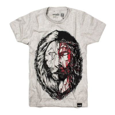CAMISETA  JESUS & LION