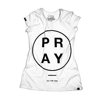 CAMISETA FEMININA PRAY
