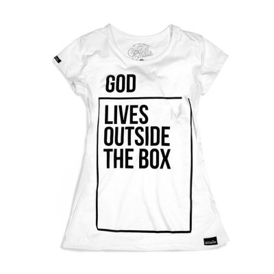CAMISETA FEMININA GOD LIVES