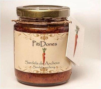 Sardela de anchova defumada - Artesanal e sem conservantes - 150g