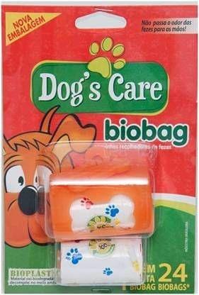 Saquinhos 100% Biodegradáveis Para Recolher Fezes