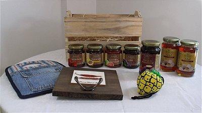 Cesta com produtos orgânicos e ecológicos - Kit 1