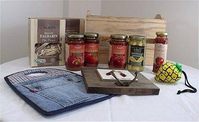 Cesta com produtos orgânicos e ecológicos - Kit 2
