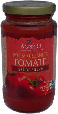 Polpa Orgânica de Tomate. 100% tomate. 325g