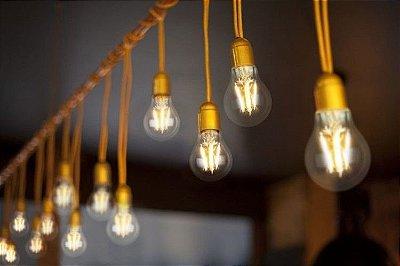 Lâmpada Led Filamento - Design clássico, tecnologia moderna e economia!