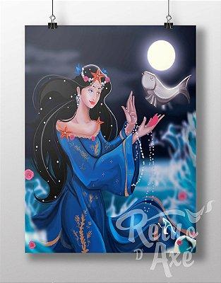 Poster Iemanjá Rainha