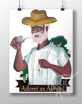 Poster Preto Velho
