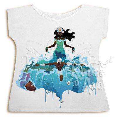 Camiseta Iemanjá e Ogum Beira Mar