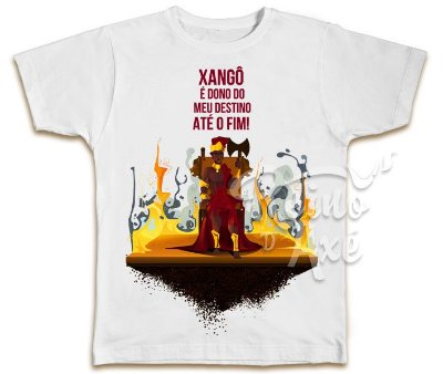 Camiseta Xangô dono do meu destino