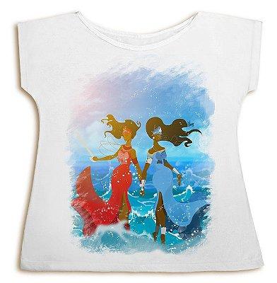 Camiseta Iemanjá e Iansã - Duas Ventarolas
