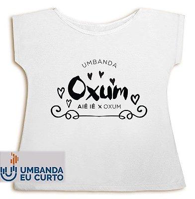 Camiseta Umbanda Eu Curto - Oxum