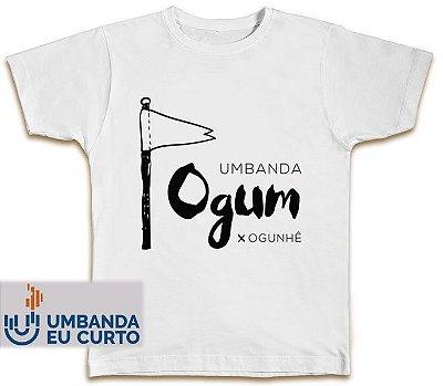 Camiseta Umbanda Eu Curto - Ogum