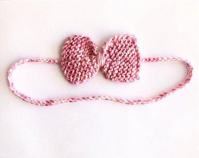 Tricozinho mescla rosa
