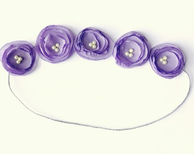Coroinha de Mini Lilis . Lilas