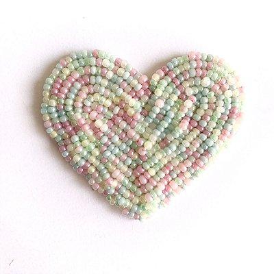 Coração Cores Fofas
