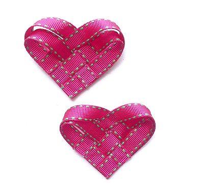 Coração Origami . (Unidade)