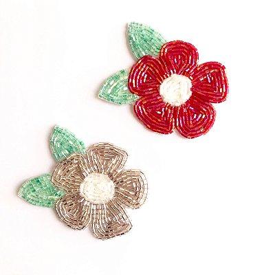 Flor Bordada (cada)