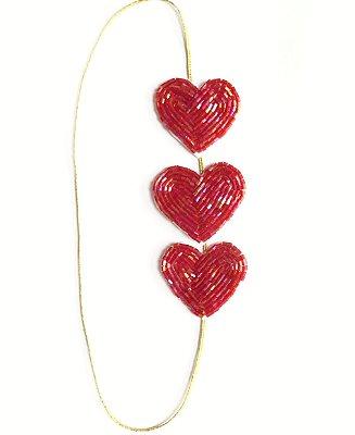 Corações Petites . vermelhão lindão hohoho