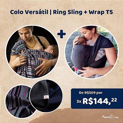 Colo Versátil | Ring Sling + Wrap T5