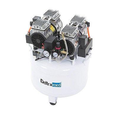 Compressor Odontológico 60Hz 65 Litros para 2 Consultório D2 - Deltramed