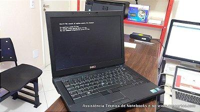 Assistência Técnica Notebook Dell Latitude E6410 Core i5 é no consertos.com reparo e troca de peças