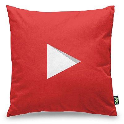 Almofada Youtube Play Button Subscribe