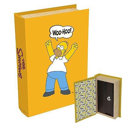 Livro Cofre Simpsons Homer