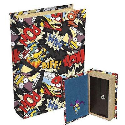 Livro Cofre Simpsons Bartman