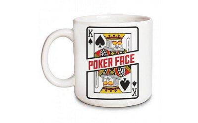 Caneca Poker Face