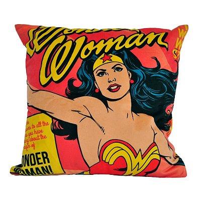 Capa para Almofada Wonder Woman 45x45