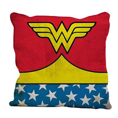 Capa para Almofada Tema Wonder Woman 45x45