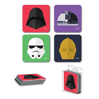 Porta Copos Magnéticos Star Wars