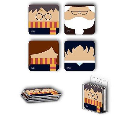 Porta Copos Magnéticos Harry Potter
