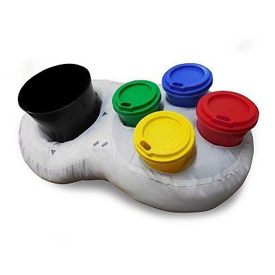 Almofada Porta Pipoca Super Nintendo