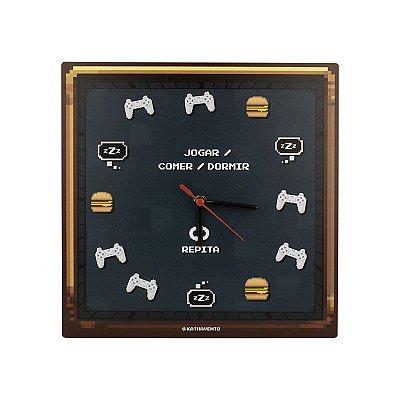 Relógio Gamer Pixel