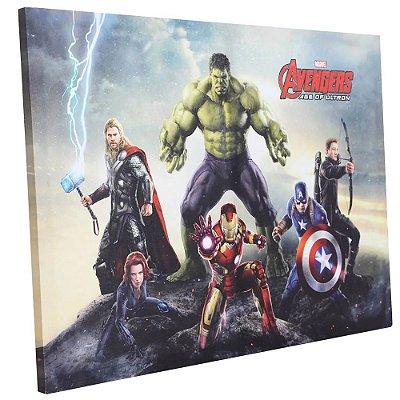 Quadro Canvas Vingadores - 50x70cm