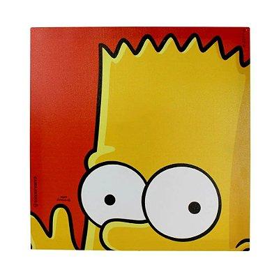 Quadro Canvas Bart Curioso - 40x40cm