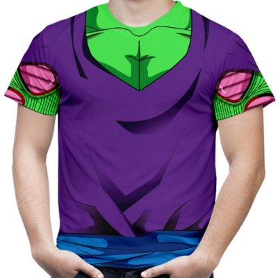 Camiseta Masculina Traje Piccolo Estampa Total