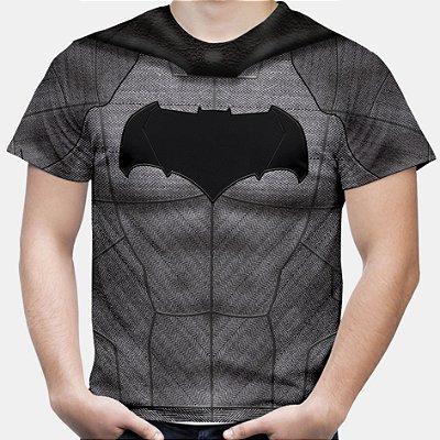 Camiseta Masculina Batman Armadura Estampa Total