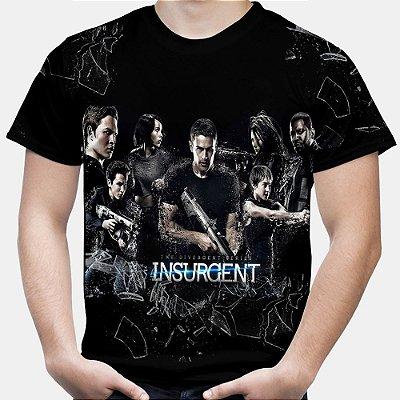 Camiseta Masculina Divergente Estampa Total
